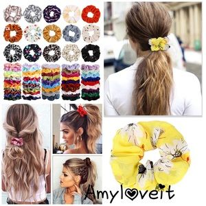 New Scrunchies Assorted Variety Bundle